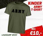 kinder army tshirt