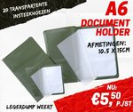 A6 document holder