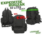Expedition Pack - 50ltr - Black