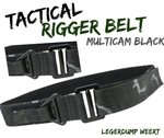 Tactical Rigger Belt - BTP Black