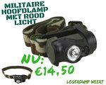 militaire hoofdlamp