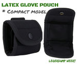 Latex glove pouch