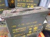 Stalen munitiekist landmacht