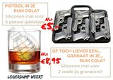 Grenade Ice Cube Mould_