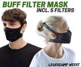 buff filter mask