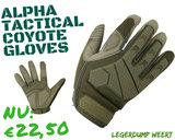 airsoft handschoen