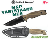 Smith and Wesson Vaststaand mes M&P_