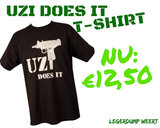 UZI T-SHIRT  BLACK  _