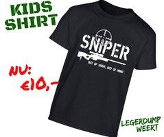 Kids shirt - Sniper