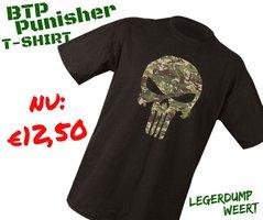 Punisher T-shirt BTP camo