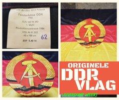 ORIGINELE DDR VLAG