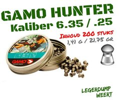 GAMO HUNTER 6.35