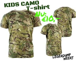 Army kids shirt BTP camo