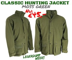 Classic Hunting Jacket  - Mossy green