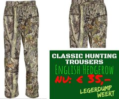 Classic Hunting Trousers  English Hedgerow Camo