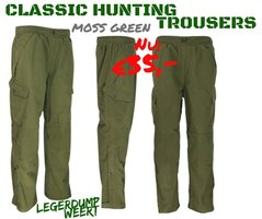 Classic Hunting TrousersMossy Green