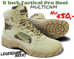 6 Inch Mulitcam Tactical Pro Boot
