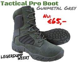 Tactical Pro Boot Gunmetal Grey