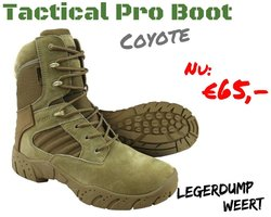 Tactical Pro Boot Coyote