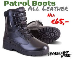 Kombat Patrol Boots leder