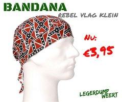 Bandana Rebel vlag klein