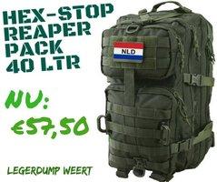Hex - Stop Reaper Pack 40 Liter Olive
