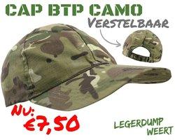 Baseball Cap - BTP camo