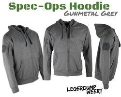 Spec-Ops Hoodie Gun Metal Grey