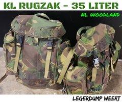 KL Rugzak 35 liter  NL Woodland