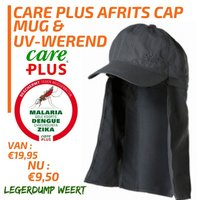 Care Plus Afritscap Midnight grey