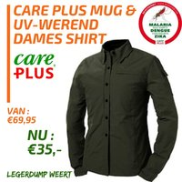 Care Plus Gear Ladies Shirt, Army green