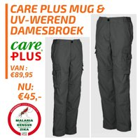 Care Plus Dames afritsbroek midnight grey