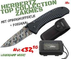 Herbertz Top Collection camo G10 zakmes