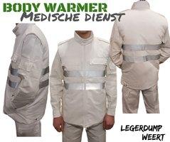Bodywarmer Medische dienst met reflecterende strepen