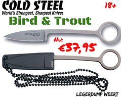 Cold Steel Bird & Trout  neckknife