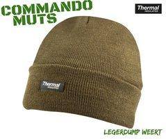 Commando muts olive