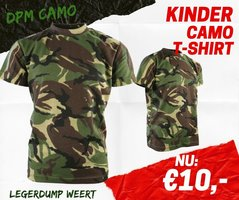 Army kids Camo T-shirt