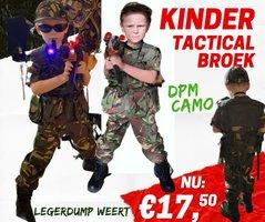 Army Kids  Camo Legerbroek