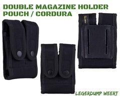 Double magazine holder pouch