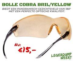 Bollé cobra bril - Yellow