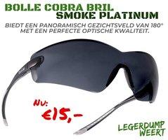 Bollé cobra bril - smoke platinum