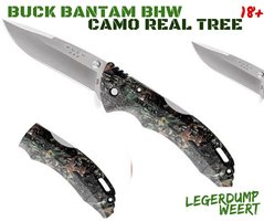Buck Bantam BHW Camo Real Tree