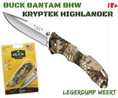 Buck Bantam Kryptek Highlander