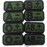 Bloedgroep patch O- NEG