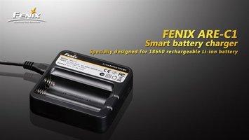 Fenix ARE-C1 batterijlader voor 18650 accu's