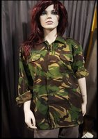 Originele leger blouse, unisex model