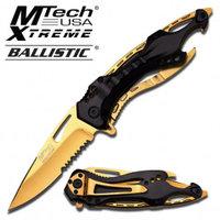 M-Tech Zakmes goud met zwart