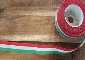 Hongaars lint op rol 2,5 cm