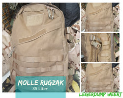 35 Liter Coyote Molle Rugzak KL