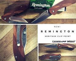 Remington Heritage Clip point zakmes